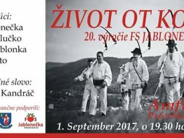 20.výročie FS Jablonečka