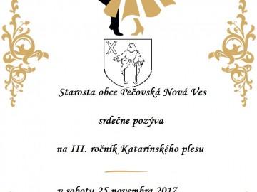 Lístky na Katarínsky ples už v predaji!