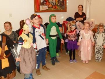 Detský karneval sa blíži, pozývame všetky deti v maskách.