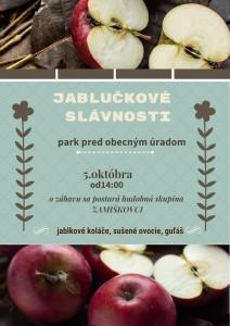 jabluckove slavnosti-plagat