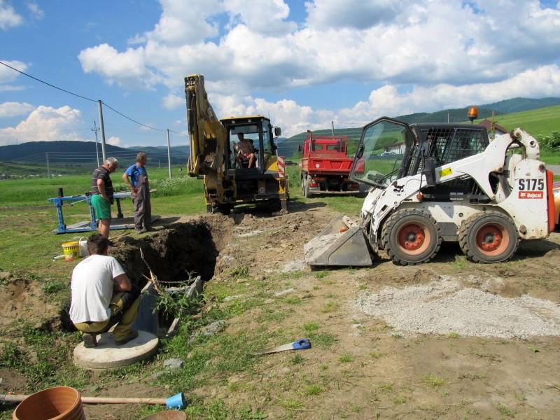 Dobudovanie kanalizácie v obci