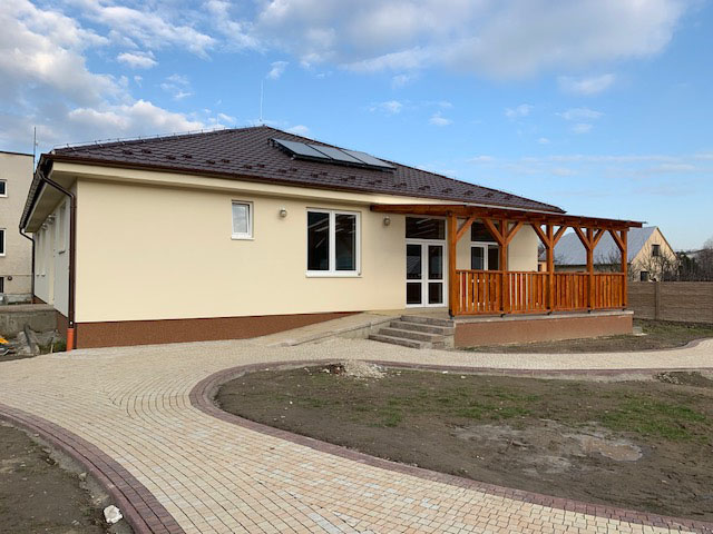 Výstavba denného stacionára ASEN