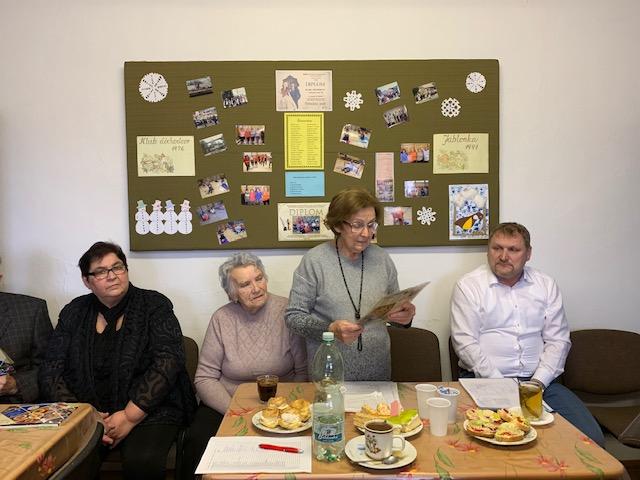 Výročná schôdza klubu dôchodcov 09.02.2020