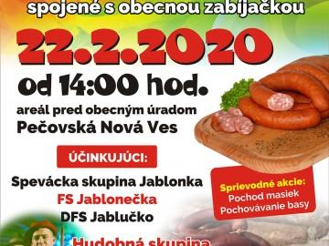 FAŠIANGY v Pečovskej Novej Vsi