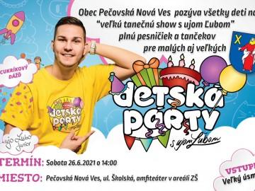 Detská párty 26.06.2021